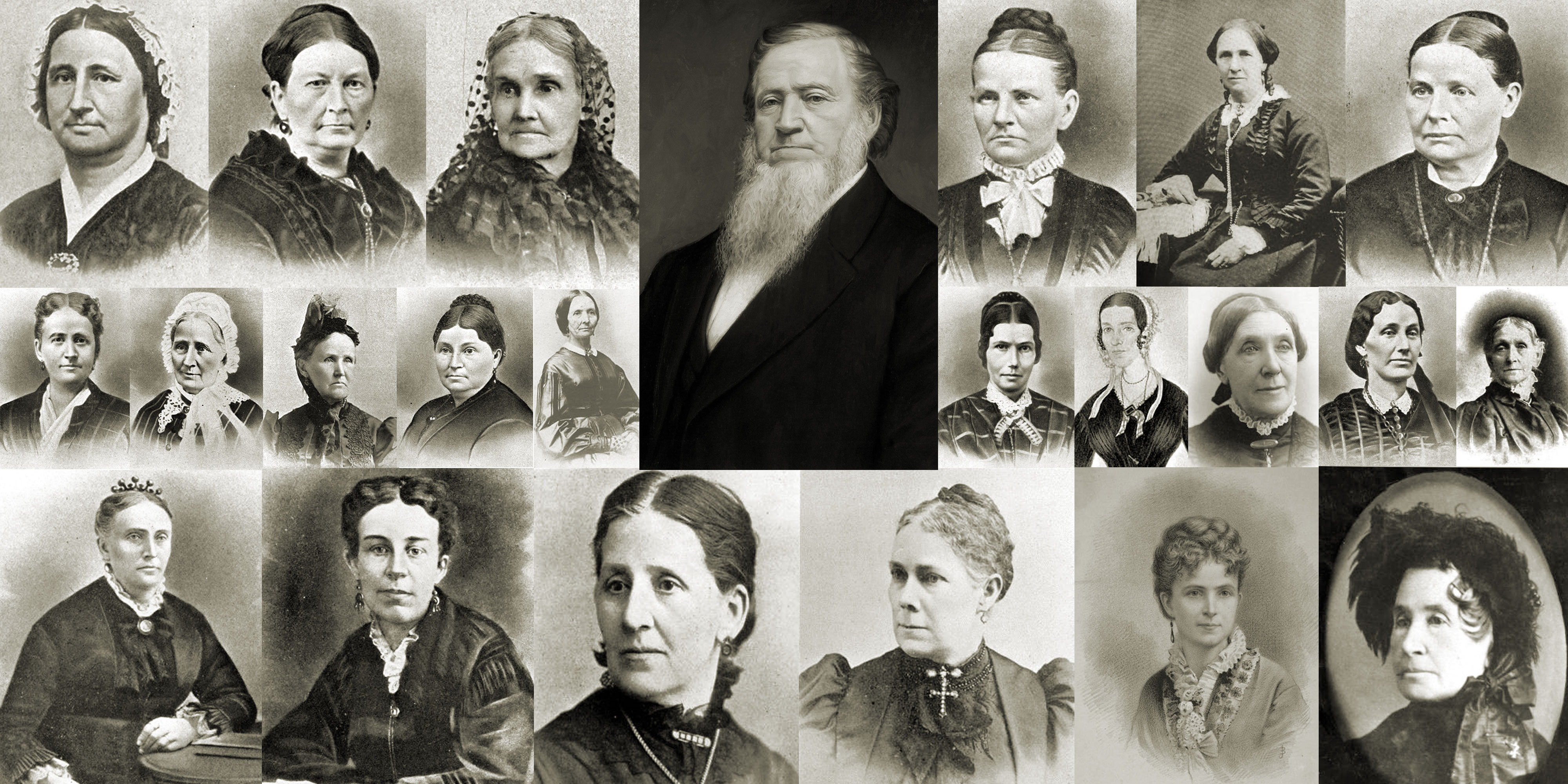 Brigham Young polygamy wives