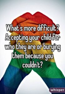 LGBT families youth suicide